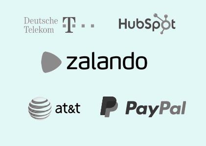 Company logos green